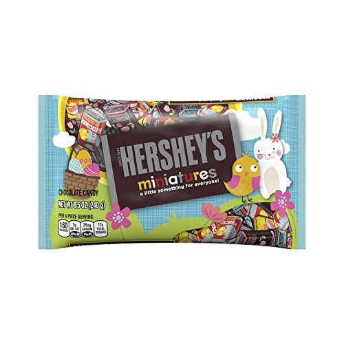 HERSHEY'S Easter Miniatures Assortment, 8.5 Ounce