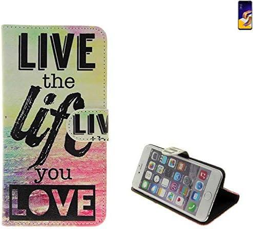 K-S-Trade para ASUS ZenFone 5Z 360 ° Wallet Case Funda Live The Life You Love Carcasa Funda Funda Smartphone Flip Cover con Tapa para ASUS Zenfone 5Z: Amazon.es: Electrónica
