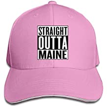Travel Straight Outta Maine Sandwich Cap For Woman