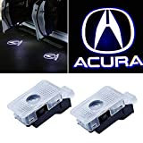 Flyox Car Door LED Lighting Entry Ghost Shadow Projector Welcome Lamp Logo Light for ACURA Series (2 Pack)