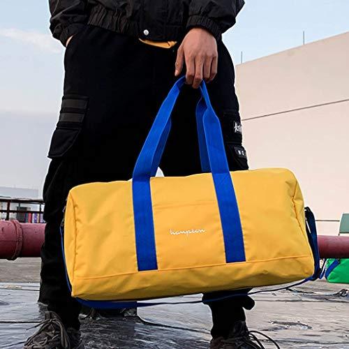 Muium Sacchetto Borse Mano Per Giallo Viaggiare Borsa Unisex Capienza Moda Messaggero Spalla Messenger Tote Tracolla Di Bag donna Del Grande A rgwqPCrx