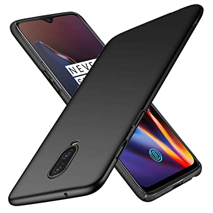 OnePlus 6T Case, TopACE Extremely Light Ultra Thin Super Slim Hard PC Case for OnePlus 6T (Black)