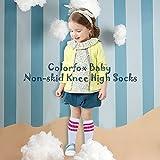 Colorfox Baby Non-skid Tube Socks Infant Lovelly