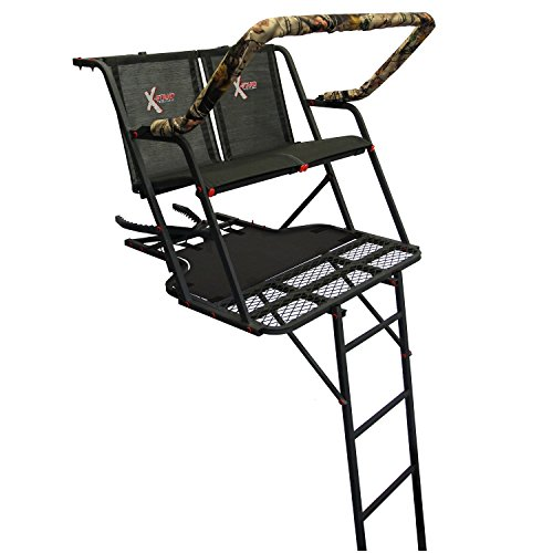 X-Stand XSLS615 Outback Two Man Ladder Stand, (2 Man Ladder Treestand)