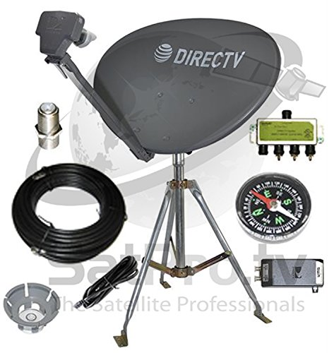 - DirecTV SL3S SWM HD Satellite Dish RV Kit