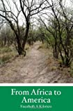 From Africa to America, Eucabeth A. Kilonzo, 1438241763