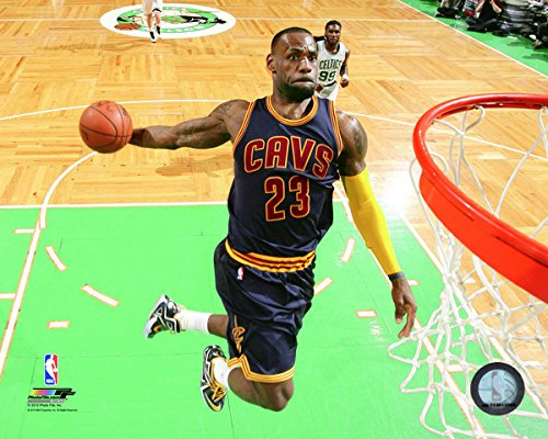 LeBron James Cleveland Cavaliers 2015 NBA Playoff Action Photo (Size: 8'' x 10'') by NBA