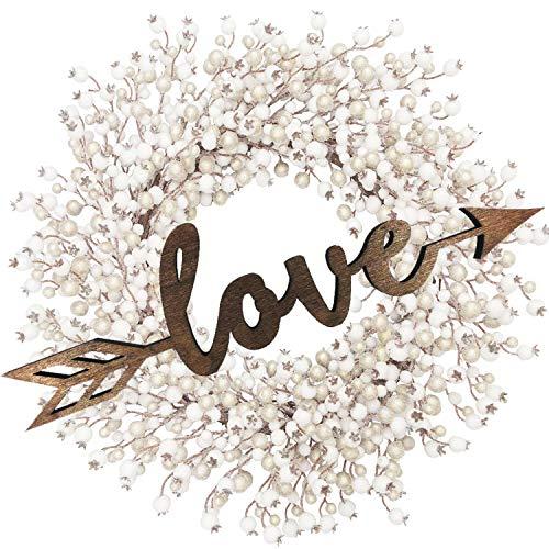 Love Arrow Wood Sign Home D