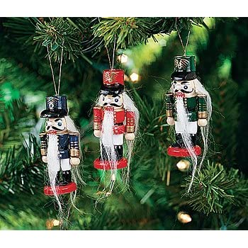wooden nutcracker ornaments - Nutcracker Christmas Decorations