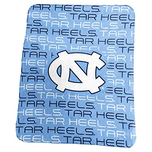 (Logo Brands NCAA North Carolina Tar Heels Classic Fleece, One Size,)