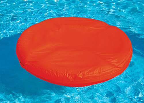 Sunsoft Island Bean-bag Inflatable Lounger for Swimming Pool - Red