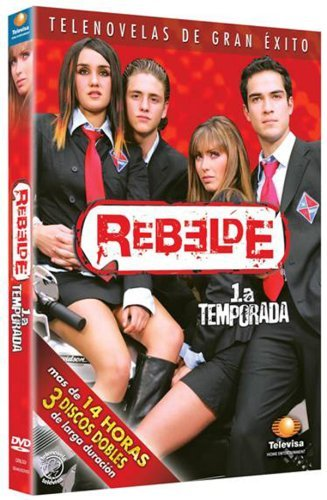 Amazon com: 4 DVD BOXES - Telenovela REBELDE Season 1 + 2 +