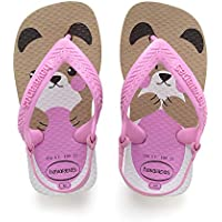 Havaianas Sandálias New Baby Pets, Rose Gold, 25 - 26 Bra