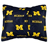 College Covers Michigan Wolverines Printed Pillow