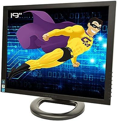 Pantalla plana PC 19 HannsG HX193DPB hsg1257 LCD TFT VGA DVI Audio VESA 1280 x 1024: Amazon.es: Electrónica