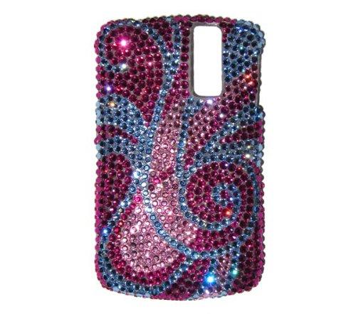 - BlackBerry Curve Swarovski Crystal BLING Cell Phone Case- Mod Swirl