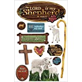 Paper House Productions STDM-178E 3D Stickers, Lord is My Shepherd