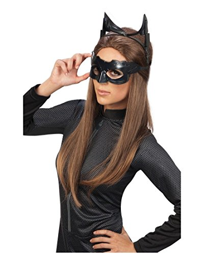 Catwoman Adult Mask (Catwoman Dark Knight Halloween Costume)