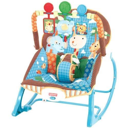 Infant to Toddler Rocker - Blue (Fisher Price Infant To Toddler Rocker Blue)