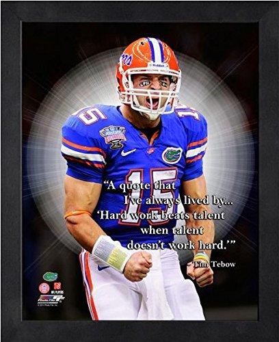 hot sale online 1643a 90097 Amazon.com: Tim Tebow Florida Gators Pro Quotes Photo (Size ...