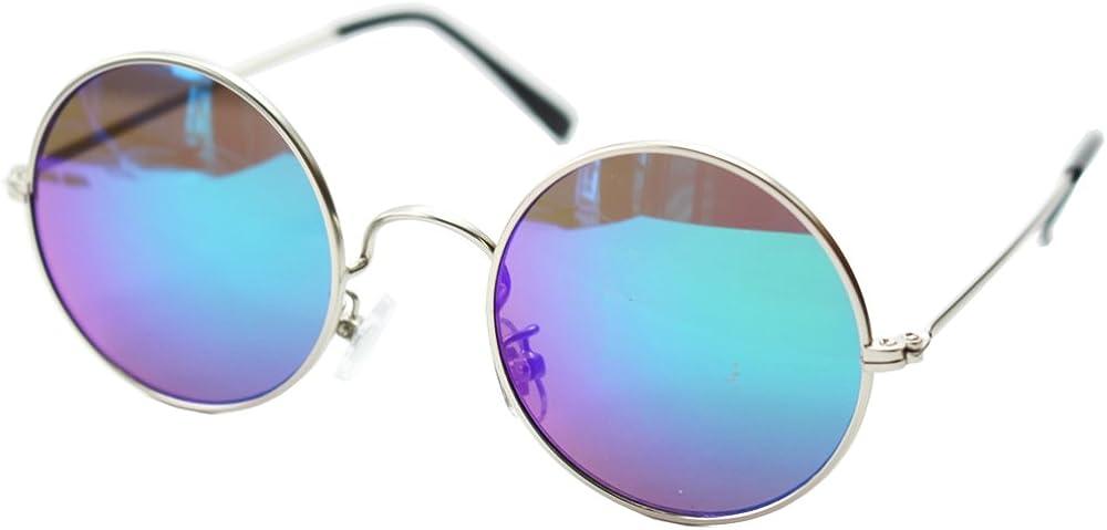 (エイトトウキョウ)eight tokyo ラウンドメタル 丸 ミラー サングラス UVカット [ 鯖江メーカー企画 ] メンズ レディース 兼用の画像