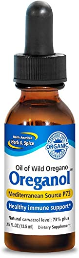North American Herb Spice Oreganol Oil of Oregano – 0.45 fl oz