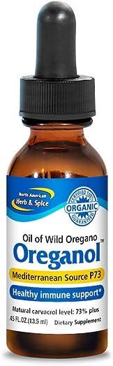 North American Herb Spice Oreganol Oil of Oregano - 0.45 fl oz