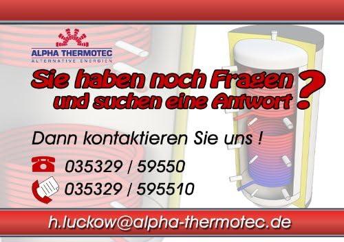 Hygienespeicher 600 Liter mit PUR Hartschaumisolierung und Solarw/ärmetauscher