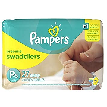 Pampers Preemie Swaddlers P-s 27 Diapers by Pampers