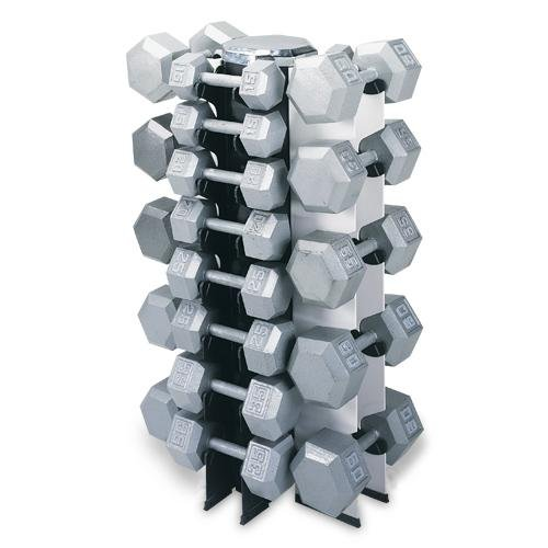 4 Sided Vertical Dumbbell Rack by Champion Barbell