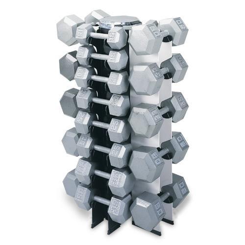 4 Sided Vertical Dumbbell Rack