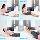 Healthex Bed Wedge Pillow Cooling Gel Memory Foam