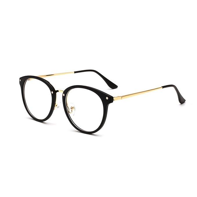 463a04c6fe0d Forepin Unisex Montatura Occhiali da Vista reg  Donna Occhiali di  Ispirazione con Lenti Chiare  Amazon.it  Abbigliamento