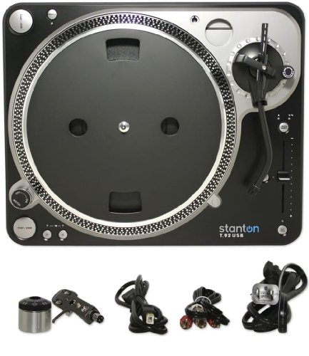 Stanton T92USB USB Direct Drive DJ Turntable Direct Drive Dj Turntable