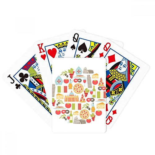 Italy The Leaning Tower of Pisa Roman Poker Playing Cards Tabletop Game Gift by beatChong