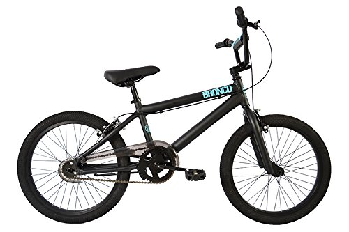 "SE Bikes Bronco BMX Bicycle, black, 20"" , Matte Black"