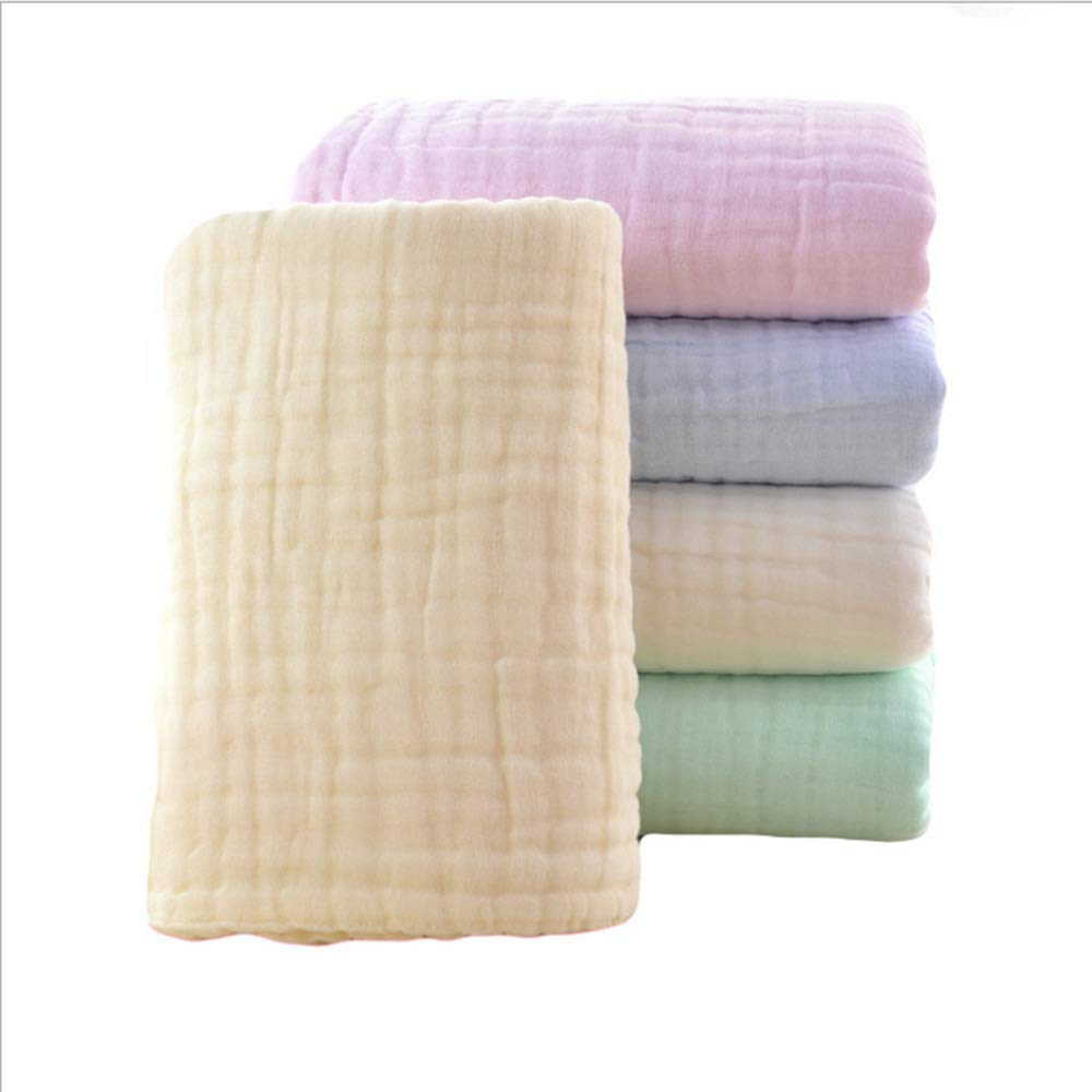 G-Tree Baby Muslin Washcloths Baby Wipes Soft Newborn Baby Bath Towels Baby Shower Gift Natural Purified Cotton Baby Towel Baby Blankets