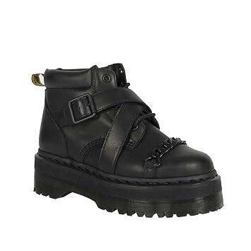 ef0785e18a9ad0 SIKESONG Metall Ketten Dekoration Für Frauen Und Ankle Boots Cool Die Hohe  Plattform Damen Martin Stiefel