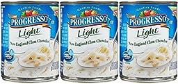 Progresso Light Soup-New England Clam-18.5 Oz-3 Count