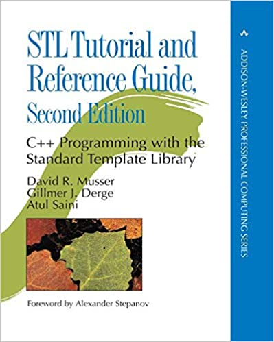 Amazon Com Stl Tutorial And Reference Guide C Programming With