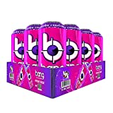 VPX (Vital Pharmaceuticals) Bang Energy Drink with Zero Calories High Caffeine, Frose Rose (12 Drinks)