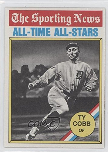 Amazoncom Ty Cobb Baseball Card 1976 Topps Base 346