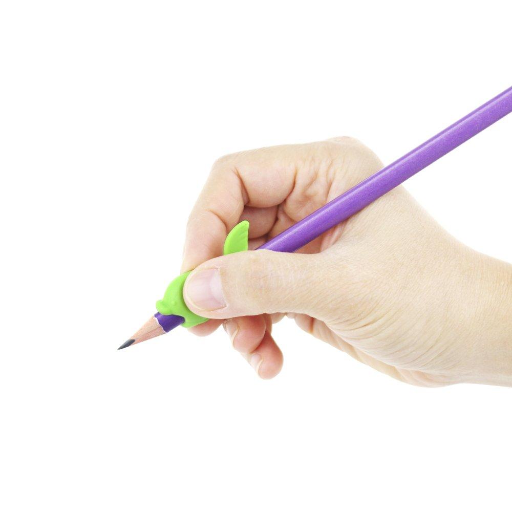 50 pcs lápiz Grips para niños, silicona y pinza para ayuda ...