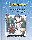 I Wonder, Ruth K. Hobbs, 0878139303