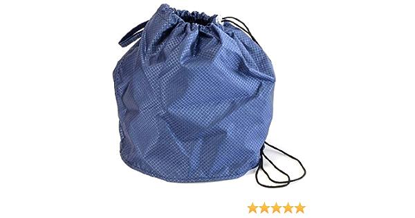 Sapphire Blue Jewel Small GoKnit Pouch Project Bag w// Loop /& Drawstring