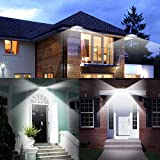 InnoGear Solar Gutter Lights Wall Sconces with