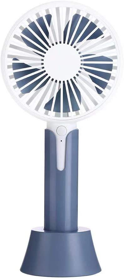YY-Abanico Ventilador de Mano, Mini Ventilador de enfriamiento del Escritorio de la Mesa de Escritorio portátil ...