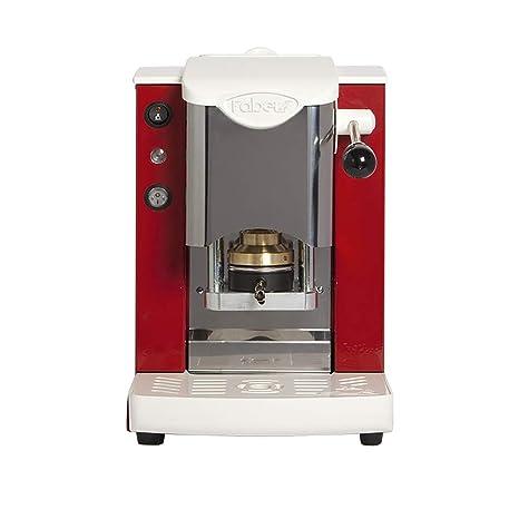 FABER - SLOT - Máquina de café de monodosis de papel ese 44 mm, inoxidable