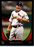 2011 Bowman Baseball Card # 45 Lance Berkman - St. Louis Cardinals - MLB Trading Card in a Protective Display Case