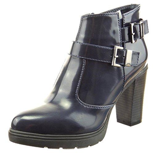 De Moda Sopily Brillantes Botines Zapatillas Buena Tobillo Mujer qSHPpqg